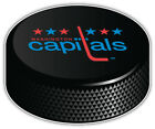 Washington Capitals Slogan NHL Hockey Puck Car Bumper Sticker  -9'',12'' or 14'' $12.99 USD on eBay
