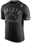 Nike Dri Fit Legend Los Angeles Chargers Salute Service Team Training shirt men $29.99 USD on eBay