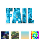 Fail Joke Meme - Vinyl Decal Sticker - Multiple Patterns & S