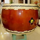 "26"" Temple Ritual drum Taiko Drum ghost Tai-chi drum Cowhide war drum 5184"