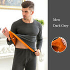 Mens Winter Warm Velvet Thick Inner Wear Thermal Underwear Long Johns Pajama New