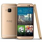 New HTC One M9 32GB GSM Unlocked AT&amp;T T-Mobile 4G LTE Gold on Gold Gunmetal Gray <br/> Brand New Bulk Packaged - Don&#039;t pay big money for a box