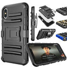 For iPhone XS MAX /XS/Xr ShockProof Heavy Duty Defender Holster Clip Case Cover
