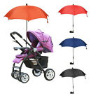Внешний вид - Baby Bike Stroller Umbrella Nylon Canopy Adjustable Direction Holder  Accessory