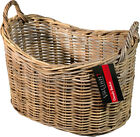 Rattan Wicker Storage Basket - Authenic Indonesian - Logs, Clothes, Toy Storage