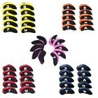 New 10 Pcs/set Neoprene Golf Iron Club Head Covers, TaylorMade, Callaway, Ping