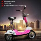 Mini Electric Scooter Battery Vehicle Foldable Scooter Comfortable Cushion B XR