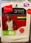 Hanes Men's Tank Top A Shirt - Small - 3XL White Color Brand New Factory Sealed <br/> USA Seller - 3 / 6 / 9 / 12 / 15 Pack Available !!!