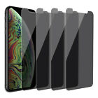 For iPhone XS Max/ XS/ XR Anti-Spy Privacy Film Tempered Glass Screen Protector