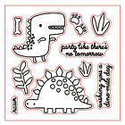Animals Silicone Rubber Stamps Diary Scrapbooking Photo Album Cards Craft Decor
