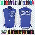 custom personalised varsity baseball college letterman jacke