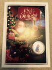 Christmas CARD with Beatrix Potter 50p pence coin XMAS Collector Gift 2016, 2018