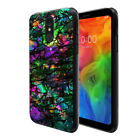 For LG Q7 / Q7+ Plus / Q7 Alpha Q610 Flexible TPU Black Silicone Soft Cover Case