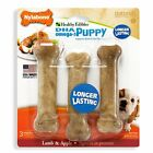 Nylabone Healthy Edibles Dog Chew Treat Bones for Puppies