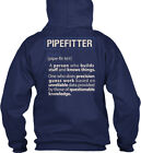 Soft Awesome Pipefitter - Noun Pipe Fit Te'r 1. A Gildan Hoodie Sweatshirt