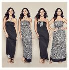 Avon Urban Safari 4 Way Reversible Maxi Dress RRP $39.99