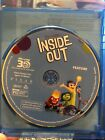 NEW Blu-ray 3D Discs ONLY - Tangled Zootopia Ant-Man Inside Out - Disney Marvel