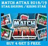 TOPPS Match Attax 2018/19 RISING STAR / STAR SIGNING CARDS 2019