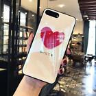 For iphone X 8 7 6 plus Blu-Ray Hot Heart Mirror Soft TPU Phone Back Cover Case
