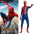 Spider-Man:Homecoming Peter Parker Jumpsuit Cosplay Costume for Adults and Kids