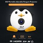UNIC Q1 Mini Cute Penguin DLP Projector Home Movie, Support AV USB SD HDMI
