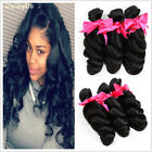 Loose Wave 150g/3Bundles Peruvian Weft 100% Virgin Human Hair Weave Extensions