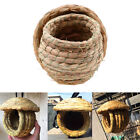 Handmade Straw Bird Nest Small Pet Hanging House Bed Cage Home Garden Decor US