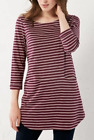 New Ex White Stuff Stripe Me Jersey Tunic - Pansy Purple Was £39.95 Now £19