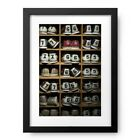 Photos by Getty Images Pairs of bowling shoes on a shelf Photography Print <br/> Save An Additional 10% Off - See Cart for Details!!