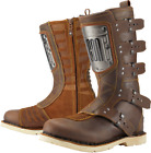 ICON 1000 Elsinore HP Boots Brown Leather FREE SHIPPING