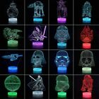 Star Wars Death Acrylic 3D LED 7Color Night Light Touch Table Desk Lamp + Remote $23.66 CAD on eBay