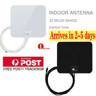 1Byone Digital Indoor HDTV TV Antenna 1080P UHF/VHF/FM 25miles Black/White Color, used for sale  Ontario