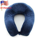Soft Memory Foam Travel Pillow Neck Head Rest Car Cushion Velvet image