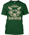 Quality Made In Kazakhstan Funny Gift - The Most Hanes Tagless Tee T-Shirt