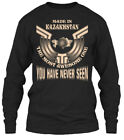 Comfortable Made In Kazakhstan Funny Gift - The Gildan Long Sleeve Tee T-Shirt