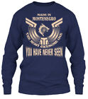 Made In Montenegro Funny Gift - The Most Awesome Gildan Long Sleeve Tee T-Shirt