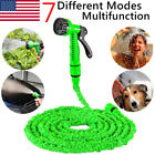 25 50 75 100 125 150 FT Expandable Flexible Garden Water Hose with Spray Nozzle