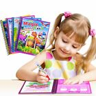 Magic Water Drawing Book Coloring Book with Magic Pen Kids Educational Toy SU