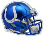 Indianapolis Colts NFL Blue Helmet Car Bumper Sticker Decal - 3'' or 5'' on eBay