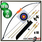 "36.5"" Kids Archery Set Junior Longbow / Recurve 10 lb Pack"