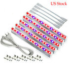 5pc Led Grow Light T5 Tube Full Spectrum Plant Growing Hydroponic Lamp US Stock