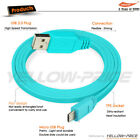 3.3FT Hi-Speed USB 2.0  Type Cable A Male to  Micro B  White Blue Black Green