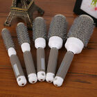 Hairdressing Styling Ceramic Round Rolling Comb Antistatic Nylon Hair ToolsXF