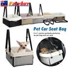 Pet Booster Seat Puppy Cat Dog Carrier Travel Protector Safety Basket Bed Bag AU