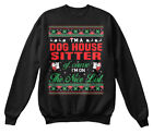 Cool Dog House Sitter - I'm A Of Course On The Hanes Unisex Crewneck Sweatshirt