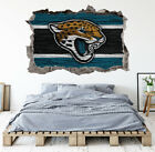 Jacksonville Jaguars Wall Art Decal 3D Smashed Football Kids Wall Decor WL166 on eBay