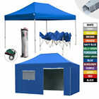 HEAVY DUTY 10X15 Ez Pop Up Canopy Patio Party Weeding Marquee Tent W/N Walls