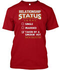 Taken By Hot Data Collector S - Relationship Status Hanes Tagless Tee T-Shirt