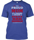 One-of-a-kind Utility Bag Assembler - I'm A Proud Mom Hanes Tagless Tee T-Shirt
