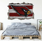 Arizona Cardinals Wall Art Decal 3D Smashed Football Kids Wall Decor WL179 $24.95 USD on eBay